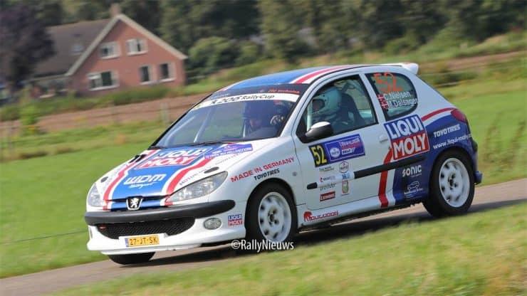 Casper Nielsen & Mats Dalsager - Peugeot 206 - Hellendoornrally 2021