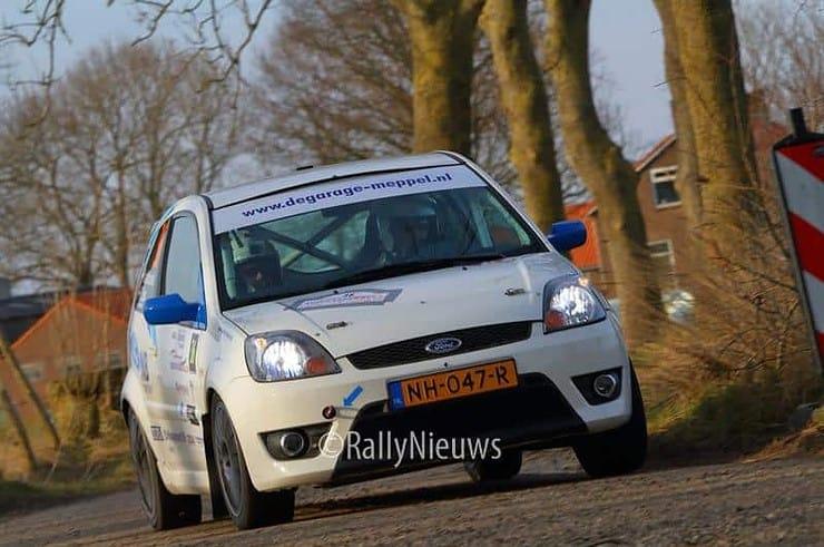 Martin van Brussel & Bart Stax - Ford Fiesta ST150 - Zuiderzeerally 2018