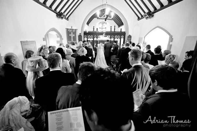 St Bridget's Church service