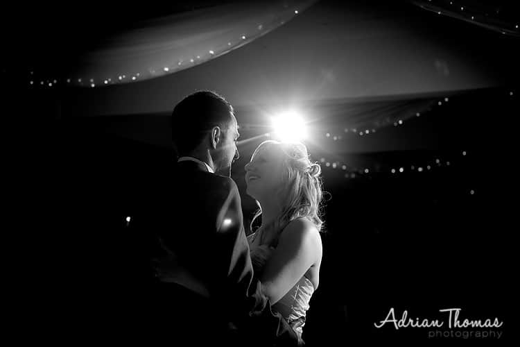First dance at wedding at New House Country Hotel