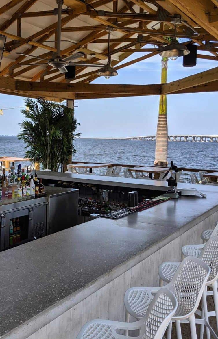 Salt Shack Concrete Bar Tops in Tampa, FL