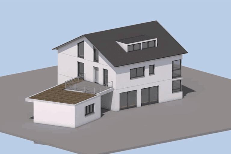 Mehrfamilienhaus in Mühlhausen