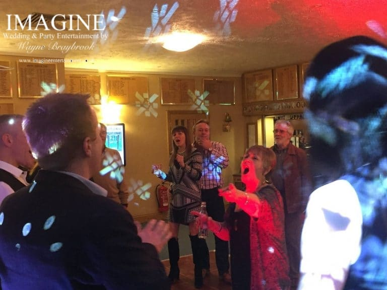 Sus birthday party at Ely Golf Club