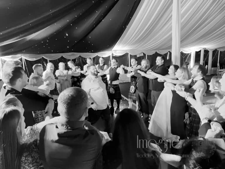 Emma & Paul's wedding at Rectory Farm in Cambridge