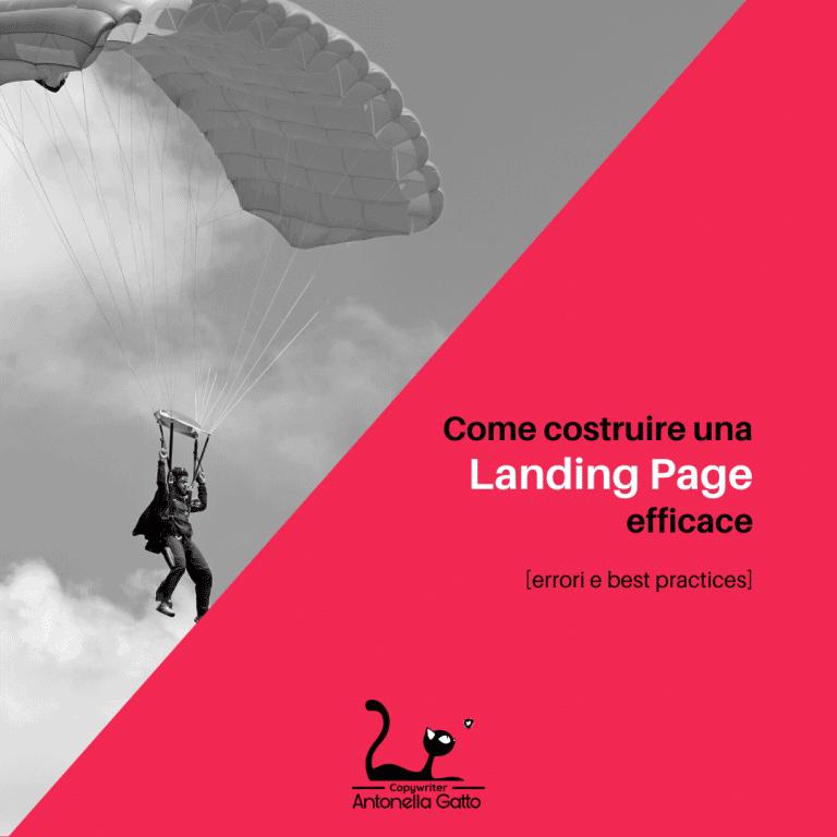 come creare landing page efficace