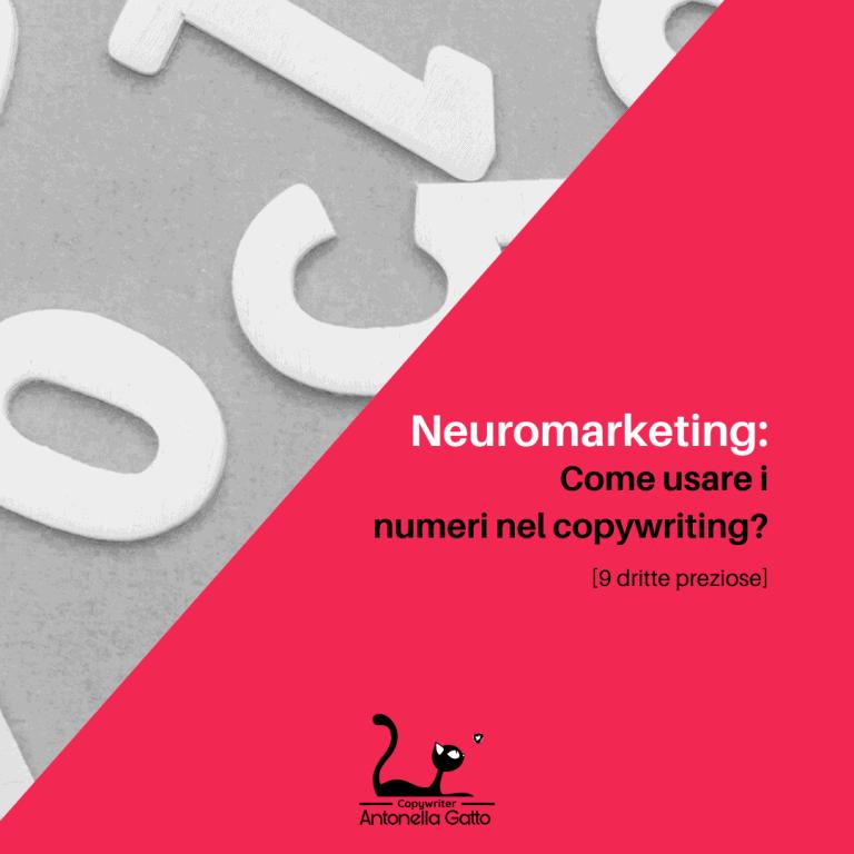 quali numeri usare nel copywriting e come usare i numeri nel copywriting