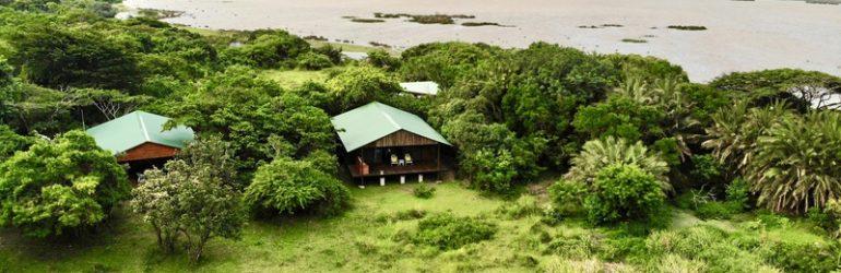 Makakatana Lodge Aerial View