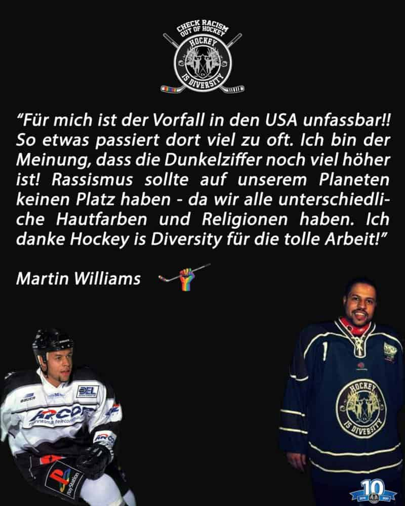 Martin Williams Statement