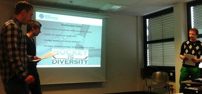 Hockey is Diversity Deutsche Sporthochschule Köln