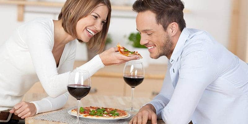 Date Night at home when you can't go out.