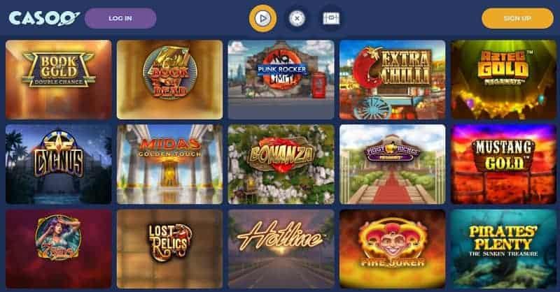 Casoo Casino Free Games