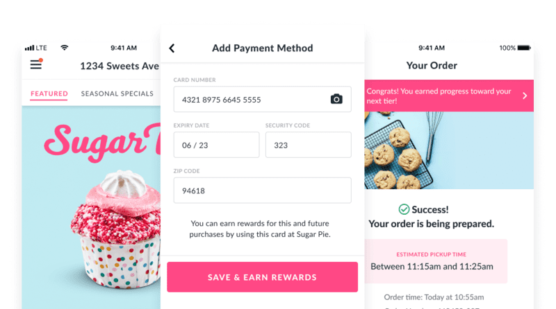 Native Online Ordering flow