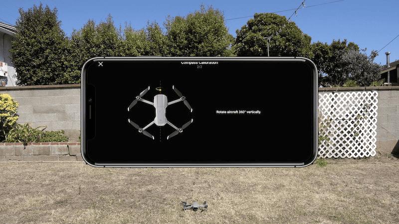mavic air 2 compass calibration
