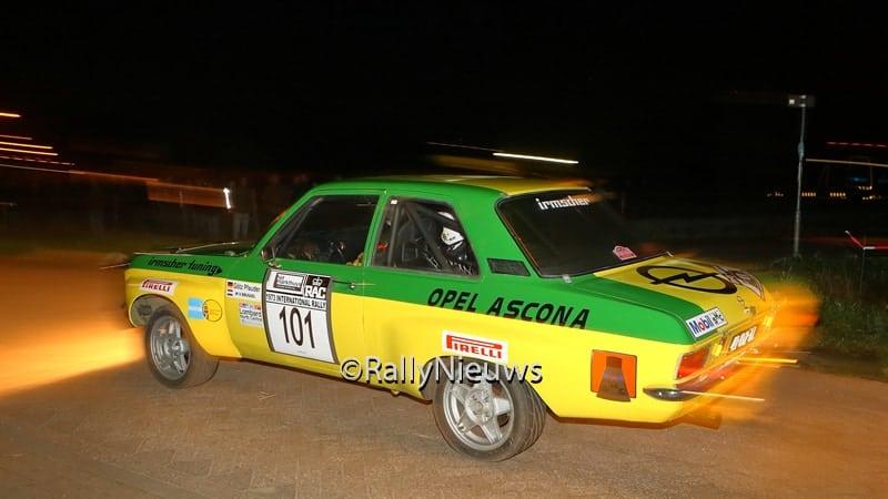 Gotz Pfauder - Opel Ascona A - GTC Rally 2015