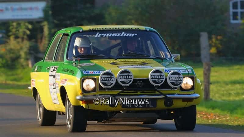 Gotz Pfauder - Opel Ascona A - Twente Rally 2015