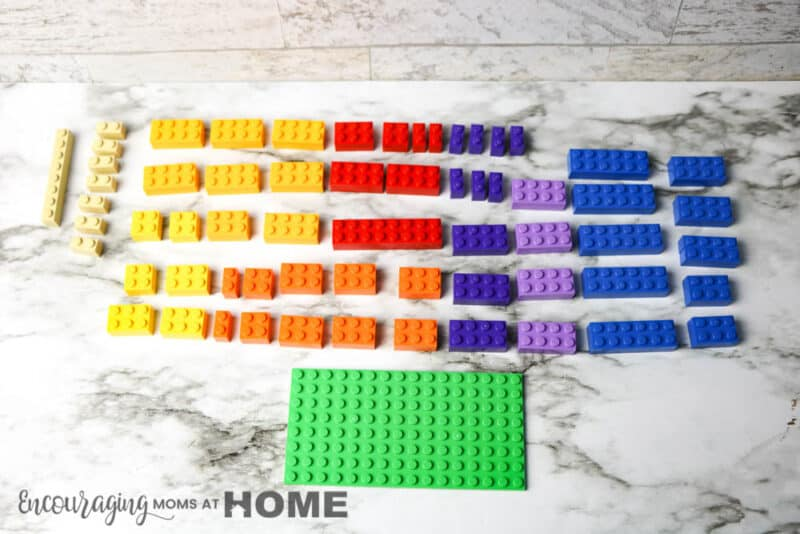 Bricks Needed for LEGO project