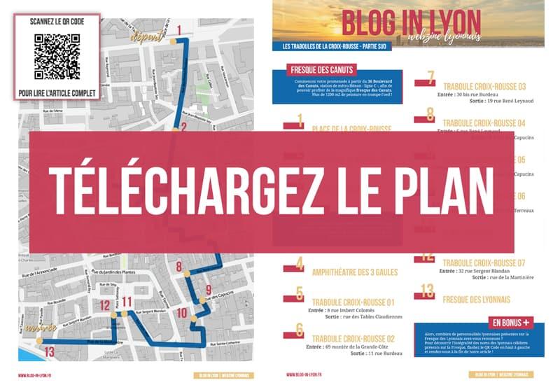 Visiter Lyon - Plan à télécharger   Blog In Lyon