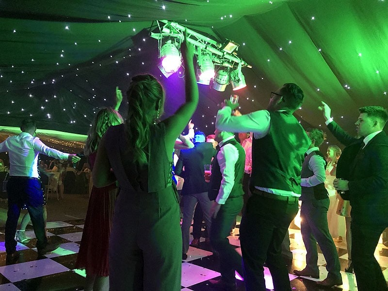 Evening reception wedding packages
