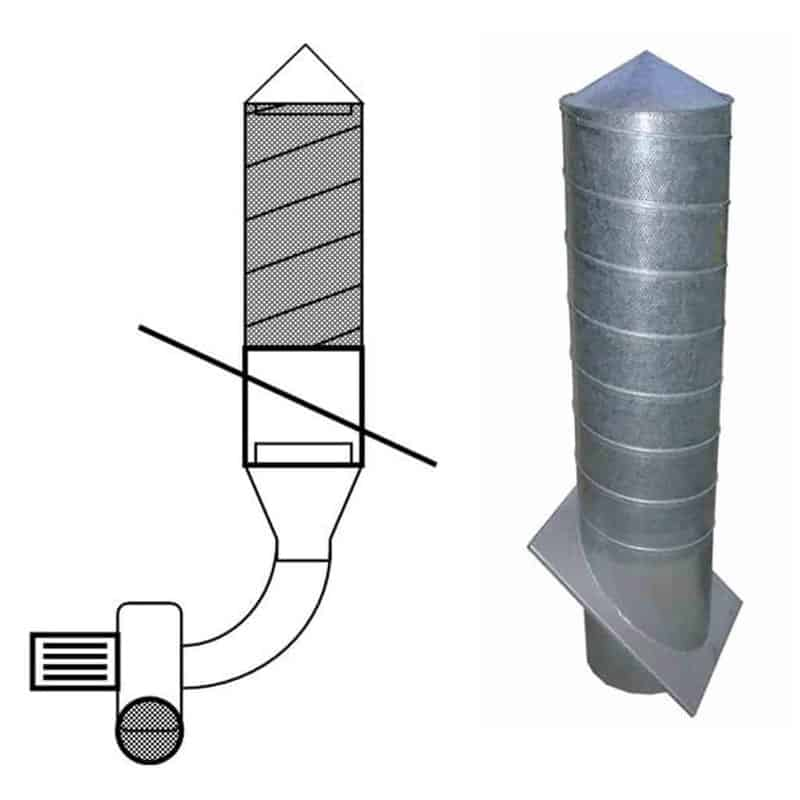 Martin Lishman underfloor ventilation systems can even be used in silos
