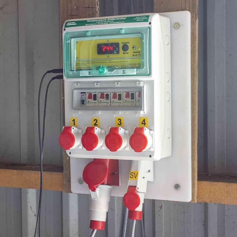 Temperature Differential Fan Control