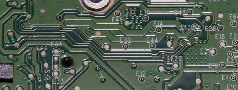 Circuit board detail
