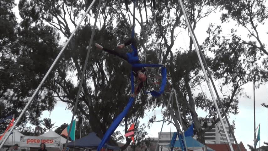 Aerials at Viva la Gong 2013