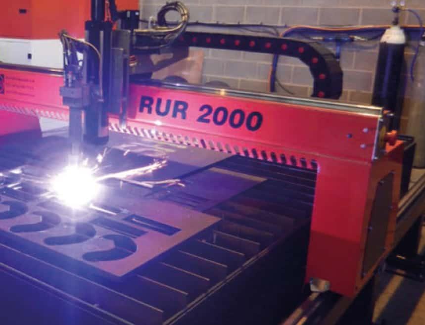 RUR Profile Cutting Machine from Kerf Developments