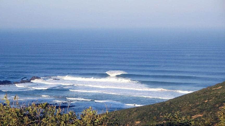 surf guiding secret spot algarve