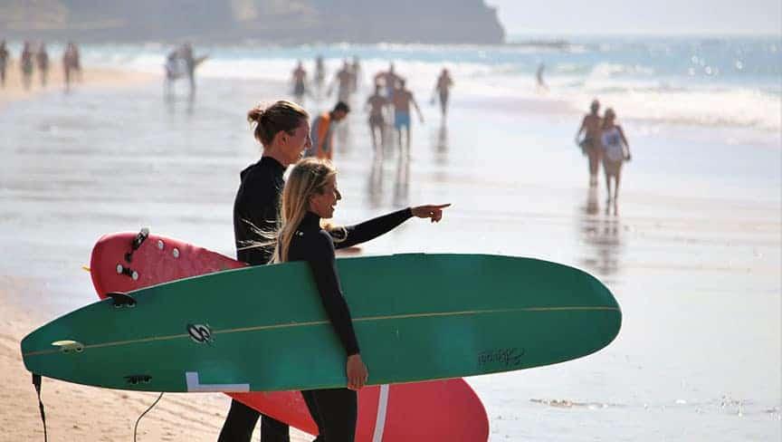 surf guiding algarve lisbon area