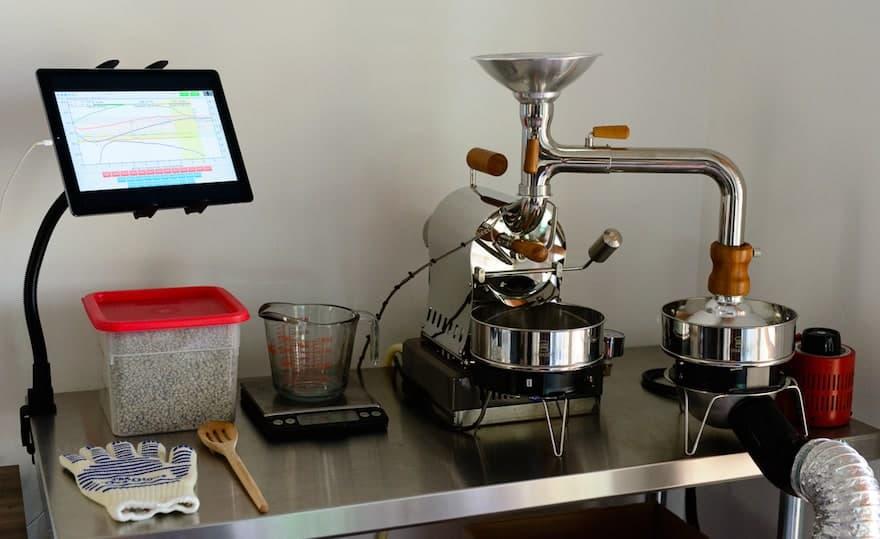 Huky 500T home coffee roaster