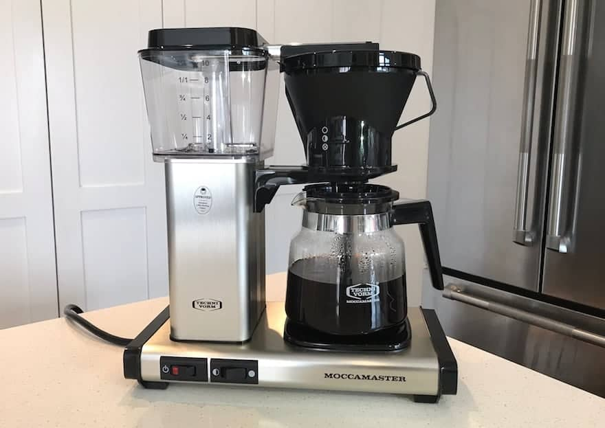 Technivorm Moccamaster KB 741 sitting on the counter