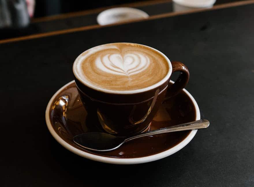 A flat white coffee.