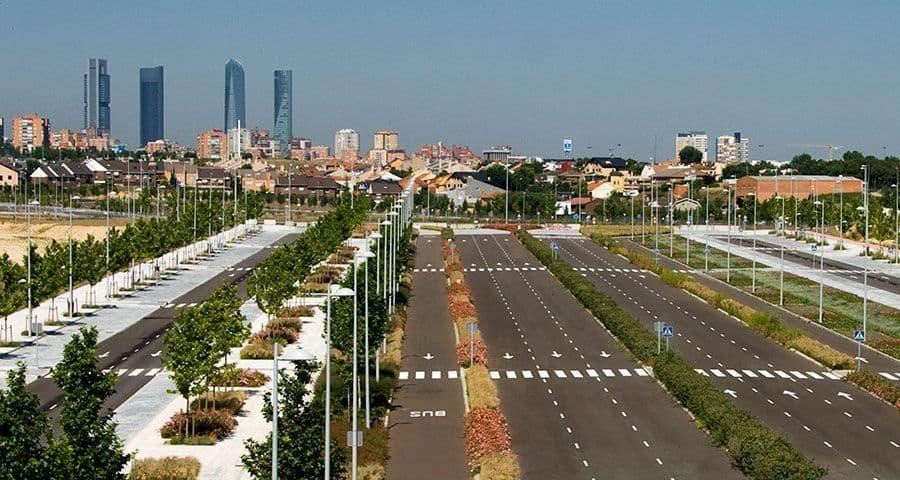 El precio medio del suelo urbano subió un 5,3 % en el primer trimestre