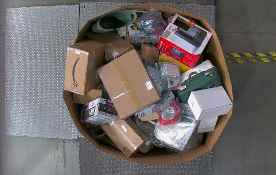 Buy Unclaimed Amazon Packages