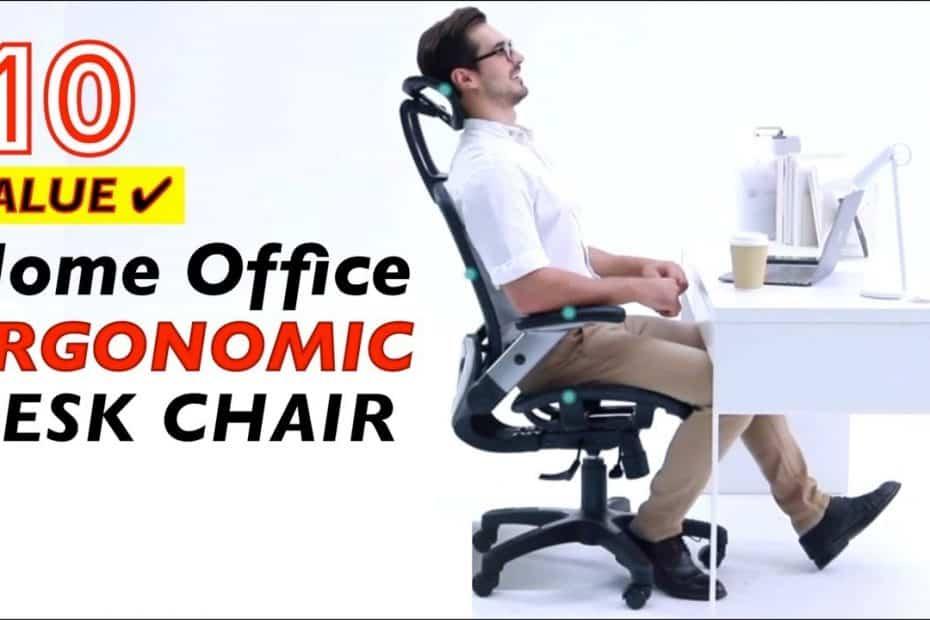 10 Best Value Ergonomic Office Desk Chairs