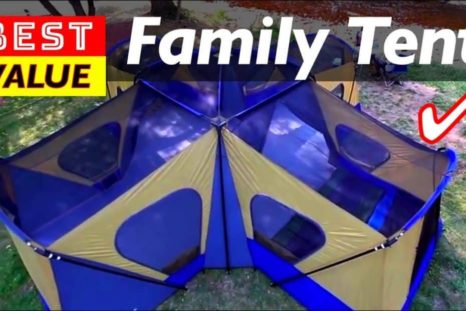 Best Value Family Tents for Outdoor Camping