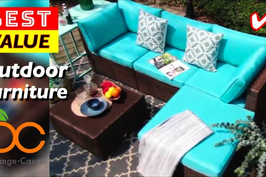 Best Value Outdoor Patio Furniture by OC Orange-Casual