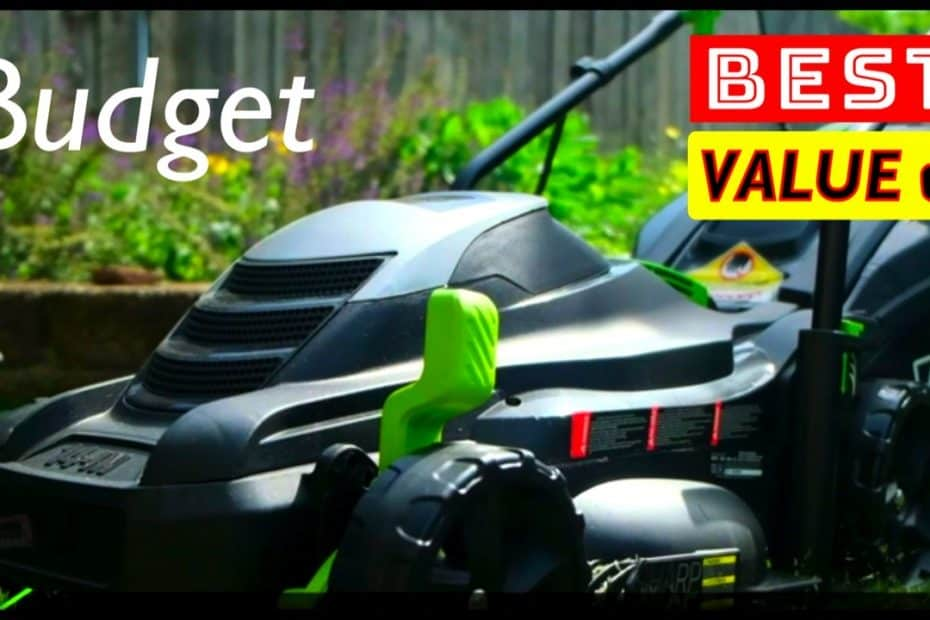 Best Value and Budget Electric Cordless Lawn Mowers