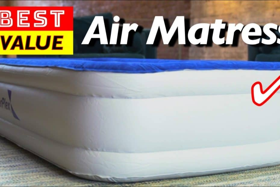 Best Value Air Mattress for Indoor or Outdoor Use