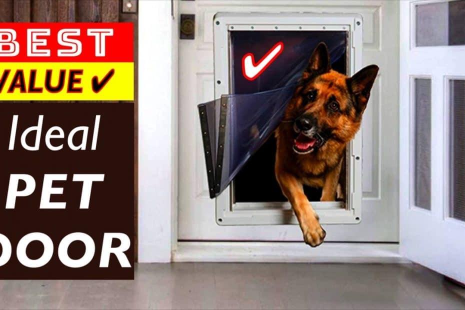 Best Value PET Door by IDEAL Pet Products