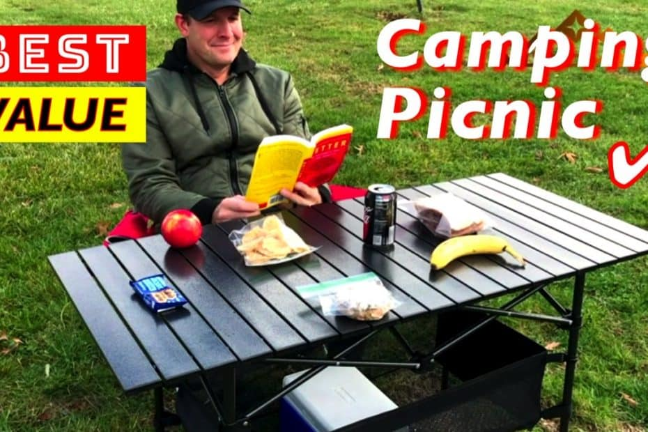 Best Value Portable Picnic Camping Folding Tables