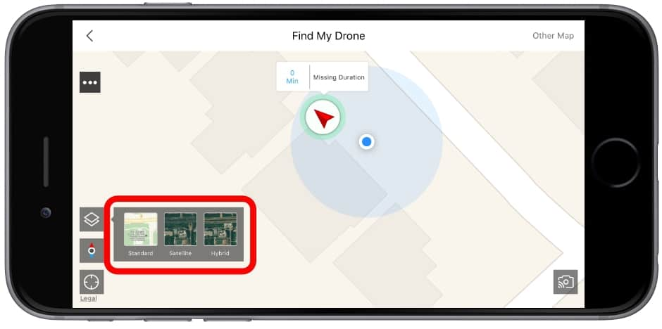find my drone dji