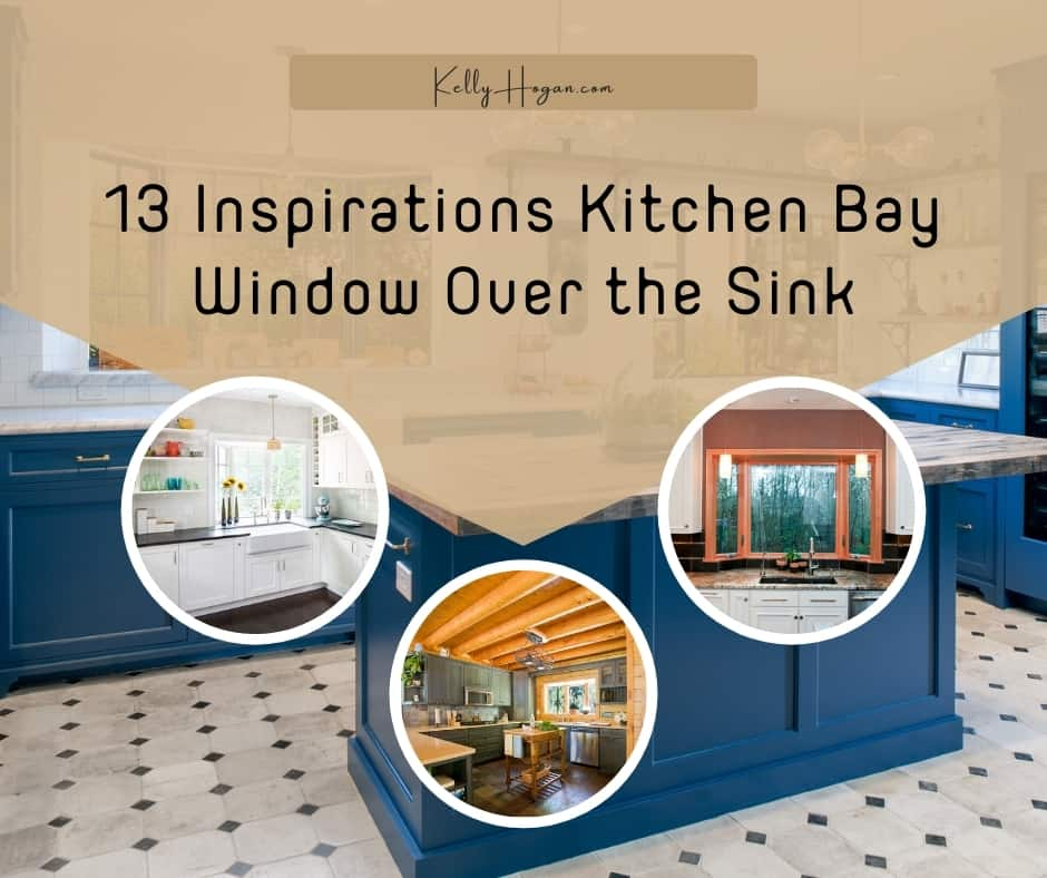 13 Inspirations Kitchen Bay Window Over The Sink