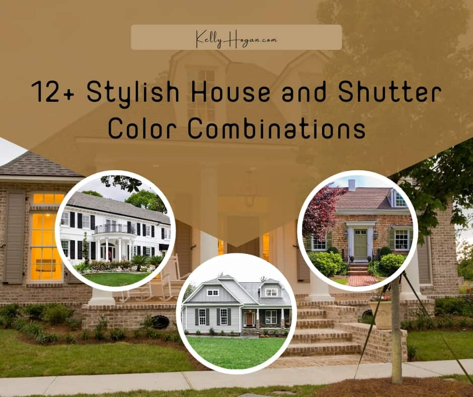 12  Stylish House And Shutter Color Combinations