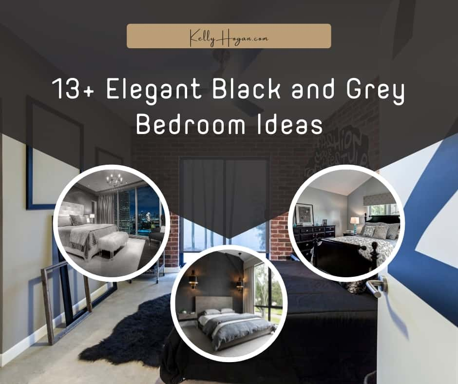 13  Elegant Black And Grey Bedroom Ideas