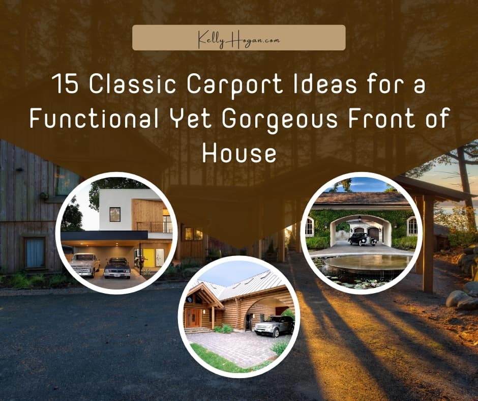 15 Classic Carport Ideas For Front Of House