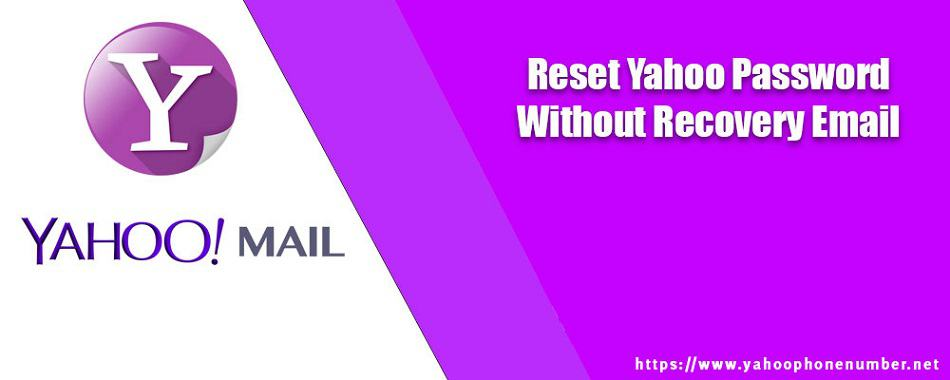 Reset Yahoo password without recovery email