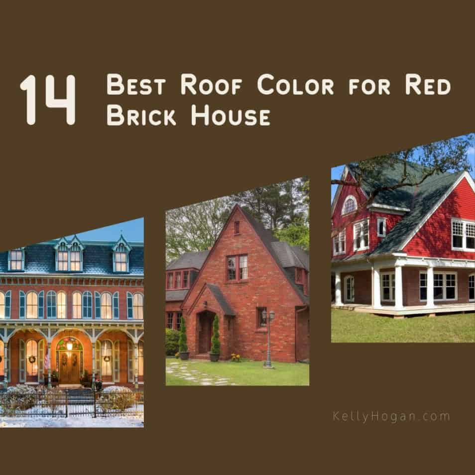 14 Best Roof Color For Red Brick House To Create A Stunning Exterior