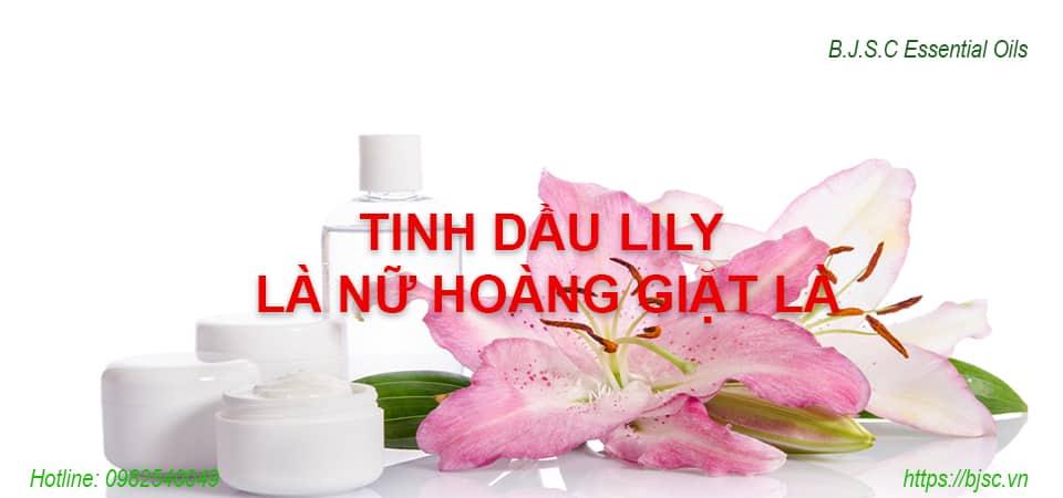 Tinh Dầu Lily Là Nữ Hoàng Giặt Là