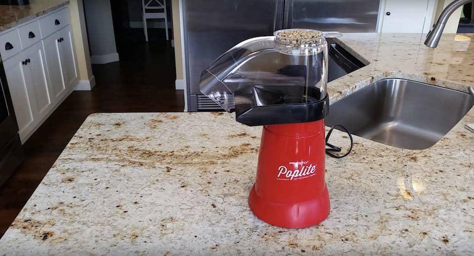 Poplite popcorn popper